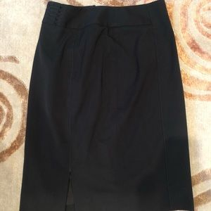 White House Black Market Detailed Pencil Skirt